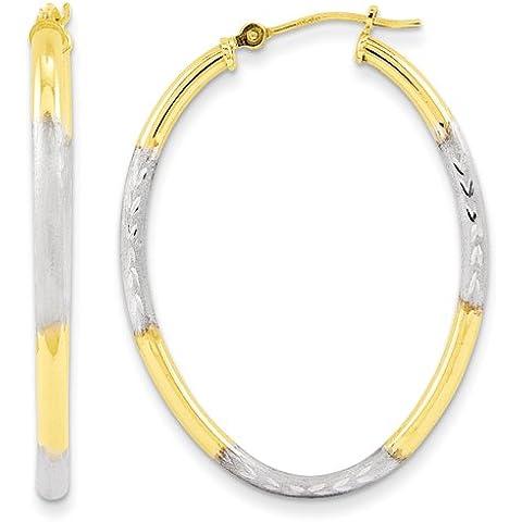 Oro bianco 14k massiccio lucidato 3-Dimensional Coniglio Charm da UKGems-White Gold Solid Polished