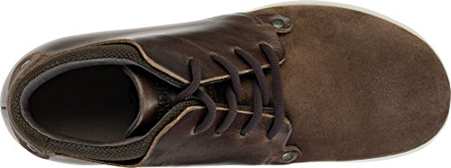 BIRKENSTOCK ESTEVAN scarpe alte stivaletto polacchine plantare anatomico Marrone