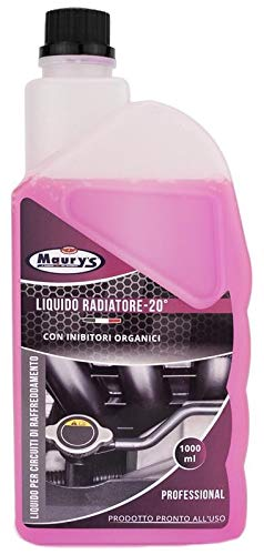 Maury's liquido radiatore antigelo universale da 1 lt rosso fino a - 20°