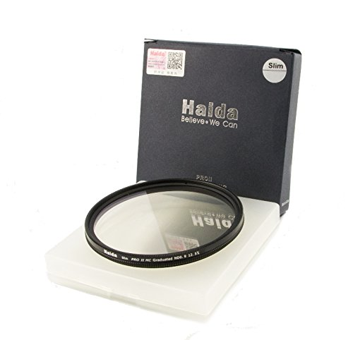 Haida Slim Pro II MC Optical GND Verlaufsfilter 0,9 (8X) (12,5%) - 82mm - inkl. Cap