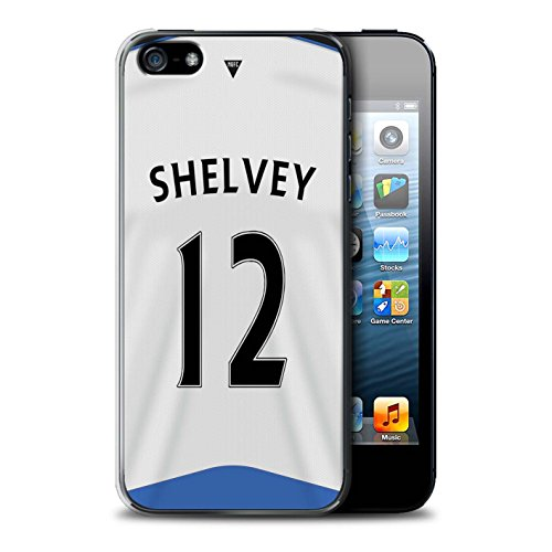Offiziell Newcastle United FC Hülle / Case für Apple iPhone 5/5S / Colback Muster / NUFC Trikot Home 15/16 Kollektion Shelvey