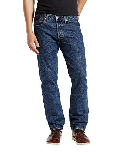 iginal Straight Jeans, Bleu (Dark Stonewash 0194), 32W x 34L ()
