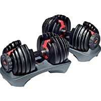 Emfil NH100182 SelectTech 552 Dumbbells Pack of 2 - Black and Red