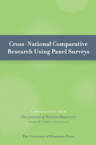 Cross-National Comparative Research Using Panel Surveys: Special Issue of Journal of Human Resources 38:2 (Spring 2003) (English Edition) -