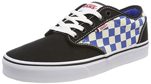 Multicolore 44.5 EU Vans Atwood Sneaker Uomo Checkerboard Scarpe ujf