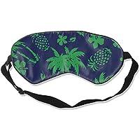 Eyes Mask Classic Coconut Trees and Green Pineapples Silk Mask Contoured Eye Masks for Sleeping,Shift Work,Naps preisvergleich bei billige-tabletten.eu