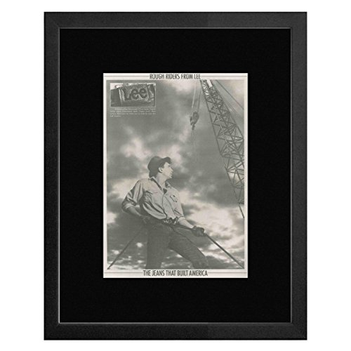 Price comparison product image LEE JEANS - The Jeans That Built America Framed Mini Poster - 53x43cm
