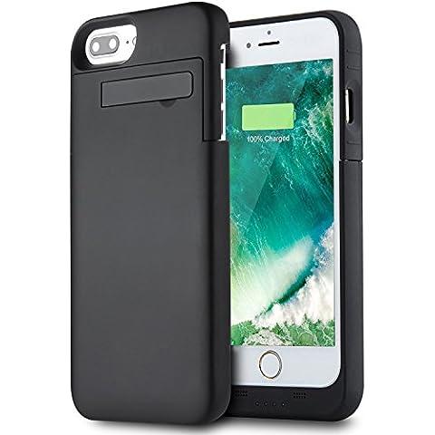 Funda Batería iPhone 7 Plus (5.5 Inch), PEMOTech® Case Carcasa Con Batería Cargador-batería Externa Recargable 4000mAh Para iPhone 7 Plus, iPhone 6 Plus, iPhone 6s Plus 5.5