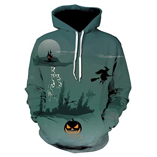 Elecenty Halloween Paare Sweatshirts Damen,Frauen Kapuzenpullover Reizvolle Herbst Hoodie Übergröße Kapuzenpullis Mit Kapuze Hemdoberteile Hoody Kapuzenshirt