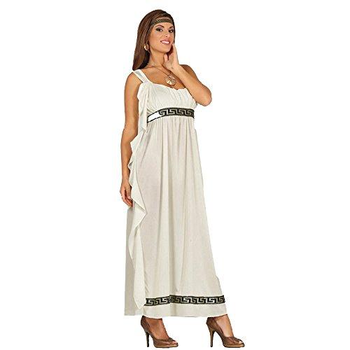Olympische Göttin Kleid Zum Griechen Kostüm für Damen M - L, Größe:M