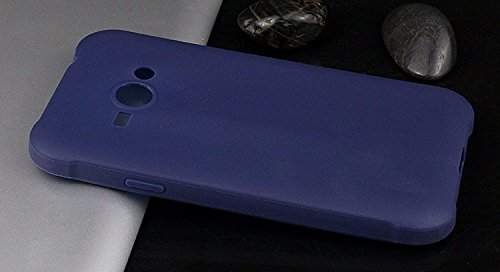 mStick Candy Color Ultra Slim Soft Silicon Back Cover For Samsung Galaxy J1 Ace / DUOS Navy Blue  available at amazon for Rs.99