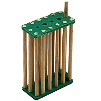 20 pack Bamboo Bee King Cage Prisoners Italian Bee Hives Queen Cage Match-box Moving Catcher Cage Beekeeping Tool 1