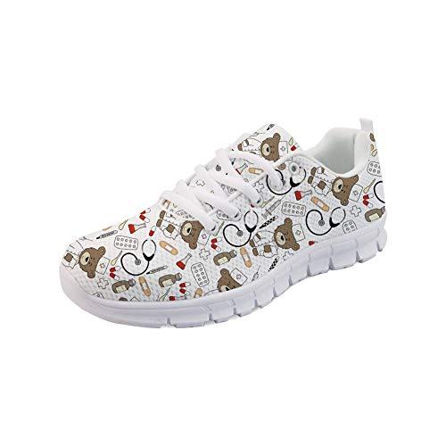 Nopersonality Nurse Bear Sneaker Running Chaussure Mesh...