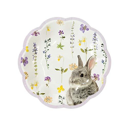 Talking Tables TSBUNNY-PLATEV2 Easter Truly Bunny 7