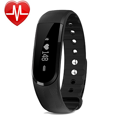 montre connect e ganriver bracelet connect cardiofrequencemetre poignet smartwatch fitness. Black Bedroom Furniture Sets. Home Design Ideas