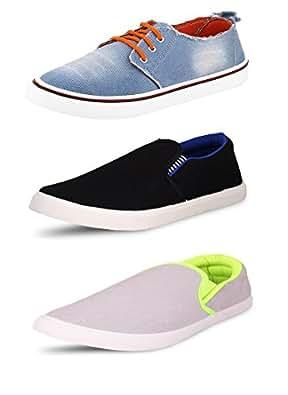 NVC Pack Of 3 Footwear Sneakers & Casual Shoes (7)