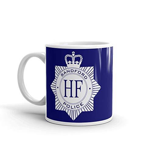 Meta Cortex Hot Fuzz HF Sandford Police Badge Movie Becher Tasse - Fuzz-t-shirt Hot