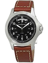 6c8c889d54a6 Hamilton Reloj Analogico para Hombre de Cuarzo con Correa en Cuero H64451533