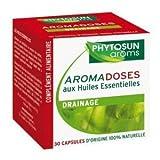 Phytosun - Aromadoses Aux Huiles Essentielles - Drainage - 30 Capsules