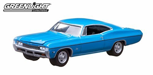 1968-chevrolet-impala-ss-blue-10th-greenlight-anniversary-collection-1-64-by-greenlight-29788-by-gre