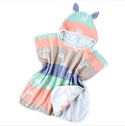 Toalla de bebé súper suave Toalla de playa con capucha Ducha de baño Manta de toalla de playa de natación