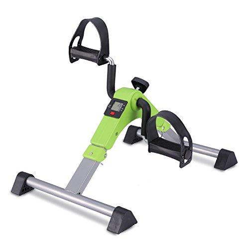 Mini Fahrrad Pedal Trainer für Arm- und Beintrainer Heimtrainer mit LCD-Monitor