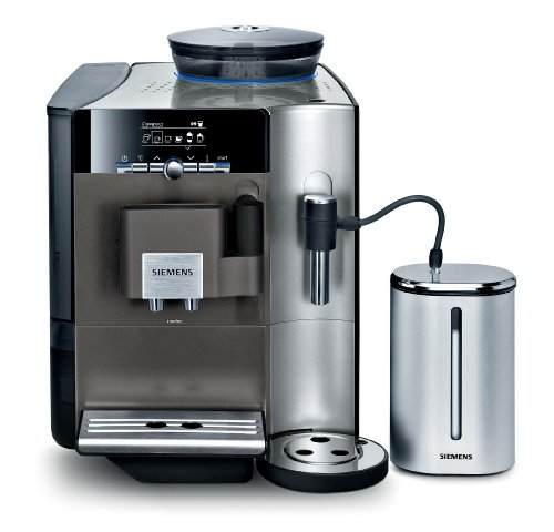 Siemens TE706501DE macchina per caffè Macchina per espresso Antracite, Acciaio inossidabile 2,1 L 2 tazze