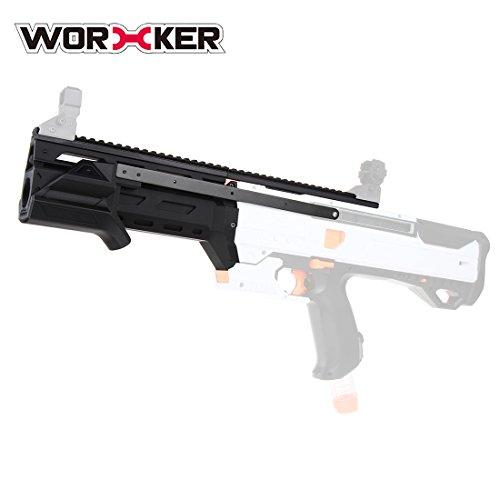LoKauf Worker F10555 3D No.196 Pull-down Kit: Griff + Vorderrohr Upgrade Kit + Rail Adapter für Nerf Rival Phantom Corps Helios XVIII-700 - Corps Kit