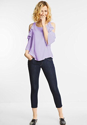 Street One Damen Schulter Cut-Out Bluse Raine blossom lilac (lila)