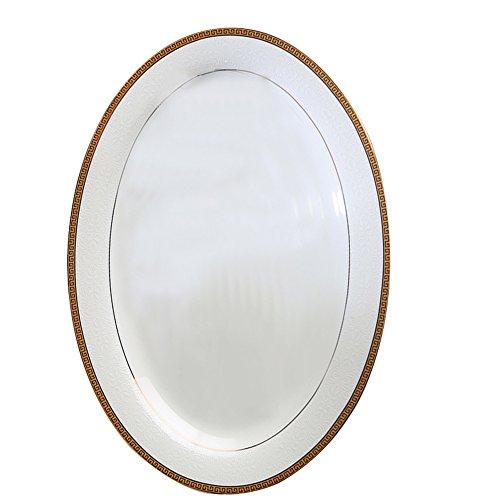 Plaques En Porcelaine 12 Pouces Os Porcelaine Poisson Ovale En Céramique De Grande Taille Cuit à La Vapeur Poisson Plat Four à Micro-ondes Vaisselle Plaque