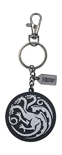 Schlüsselanhänger Metall Logo Targaryen, silber (SD Toys sdthbo27589) ()
