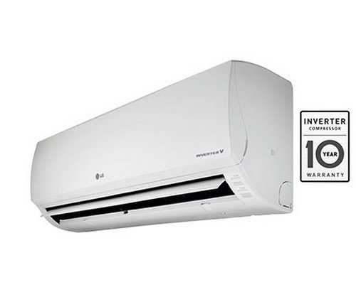 LG BSA12IBE Inverter V Split AC (1 Ton, White, Aluminium)