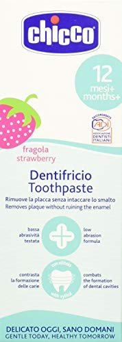 Chicco Toothpaste (Strawberry), 50 ml