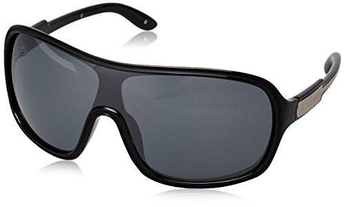 Fastrack Aviator Sunglasses (Black) (P171BK3) image