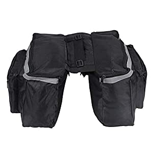 Cafopgrill Fahrradtasche, fahrradtasche gepäckträger Tasche, Hinterradtasche...