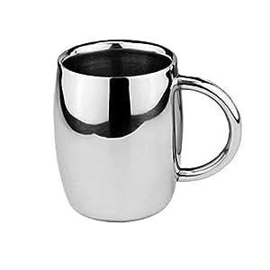 Tazze da tè parete doppia , Acciaio inossidabile Tazzine da caffè