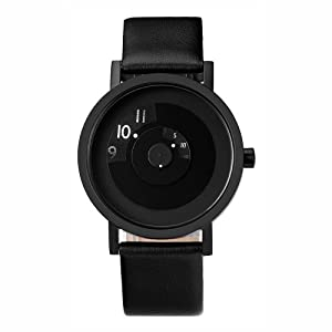 Projects Watches (Will-Harris) - Reveal 40mm Unisex Acero Negro Piel Reloj de Projects Watches