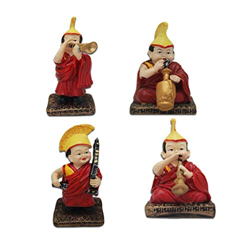 Divya Mantra Chanting Tibetan Monks Showpiece  available at amazon for Rs.1299
