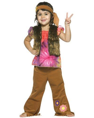 Toddler Little Hippie Girl Costume by Rasta Imposta - Size Toddler 3T-4T by Rasta Imposta