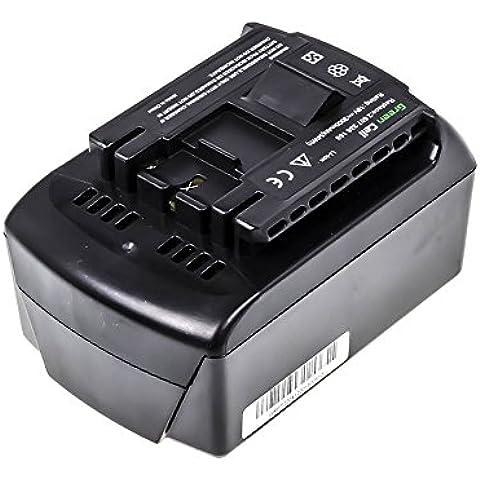 Green Cell® 2 607 336 208 Batteria per Bosch Strumento di Potere (Li-lon 3Ah 18V)