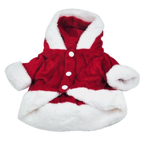 t Santa Anzug Kostüme Weihnachten Pet Geschenk (Hund Angel Kostüme)