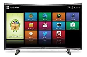9156b6b817696 ... Mitashi 80.01 cm (31.5 Inches) Curved HD Ready LED Smart TV MiCE032v30  HS (Black