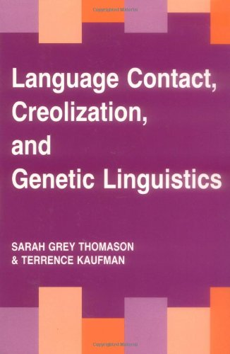 Language Contact, Creolization and Genetic Linguistics