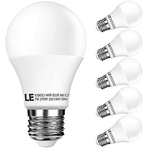 LE Lampadine a LED da 7W A60