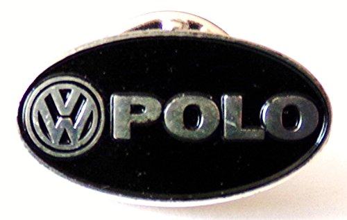 VW Volkswagen - Polo - Schwarz - Pin 21 x 10 mm (Polo-pin)