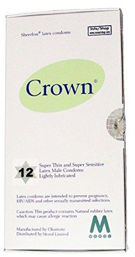 Crown Skinless Skin Kondome - Die Dünnste Latex Kondome ((12 Stück))