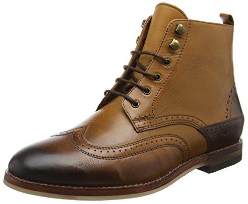 Hudson London Herren Penley Klassische Stiefel Braun (Tan)