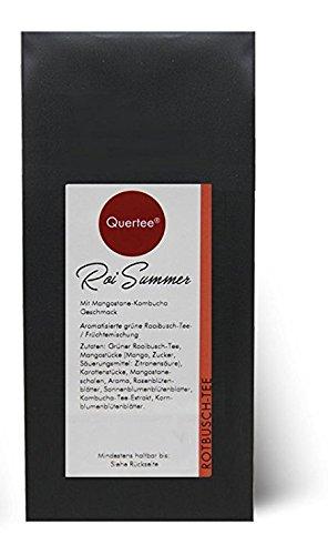"""Eistee – """"Roi Summer"""" – Rotbuschtee – Mit Mangostane Kombucha Geschmack – Tee im Sommer – 250 g von Quertee®"""