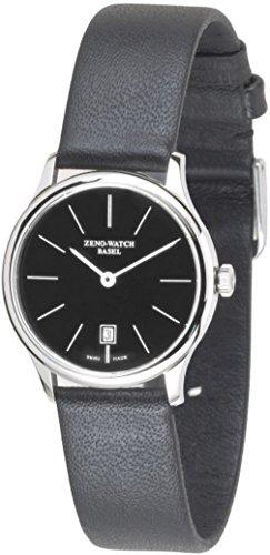 Zeno-Watch Orologio Uomo - Flat Bauhaus Quartz - 6494Q-i1