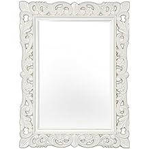 Amazon.it: specchio cornice bianca
